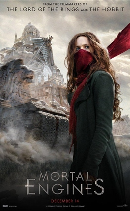 Portada de Mortal Engines