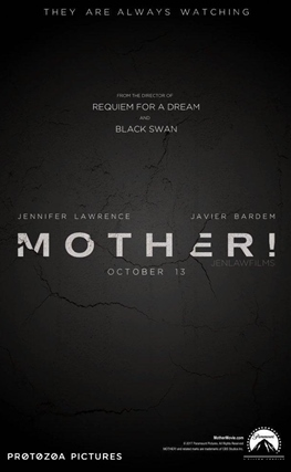 Portada de la película Mother!