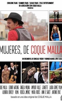 Portada de la película Mujeres, de Coque Malla