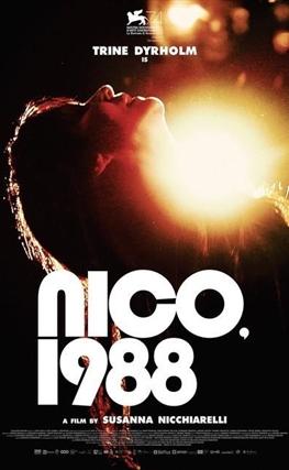 Portada de la película Nico, 1988
