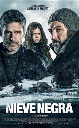 Portada de la película Nieve negra