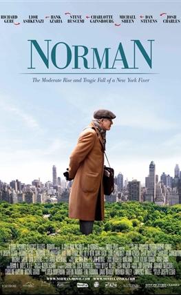 Portada de la película Norman, el hombre que lo conseguía todo