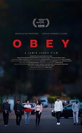 Portada de la película Obediencia