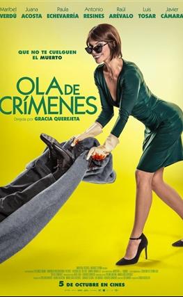 Portada de Ola de crímenes