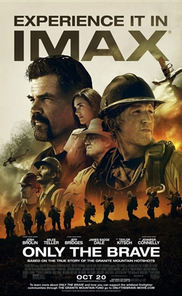 Portada de la película Only the Brave