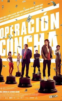 Portada de la película Operación Concha