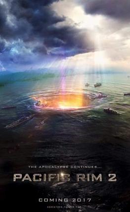 Portada de la película Pacific Rim: Uprising
