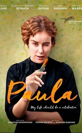 Portada de la película Paula