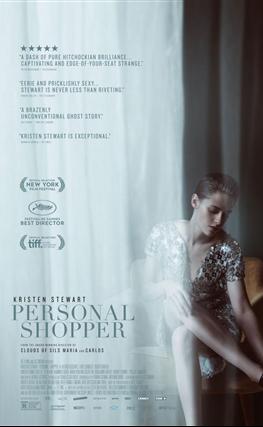 Portada de la película Personal Shopper