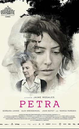 Portada de la película Petra