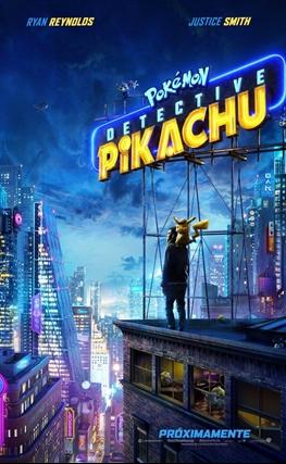 Portada de la película Pokémon: Detective Pikachu