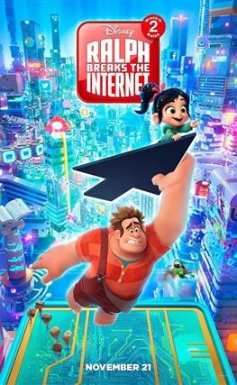 Portada de la película Ralph rompe Internet