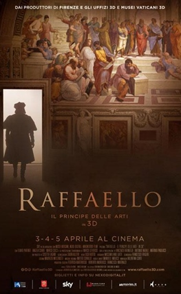 Portada de la película Raphael: The Lord of the Arts