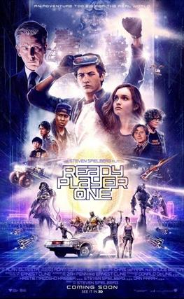 Portada de la película Ready Player One
