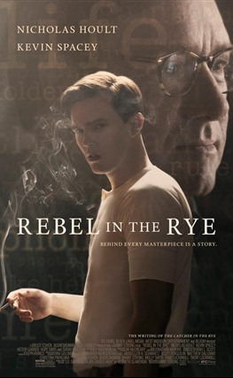 Portada de la película Rebelde entre el centeno