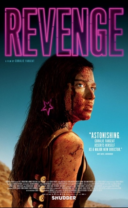 Portada de la película Revenge
