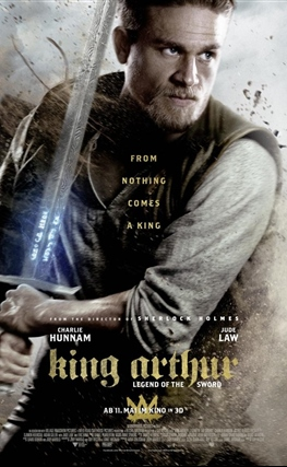 Portada de Rey Arturo: La leyenda de Excalibur