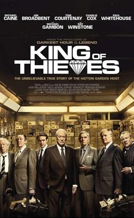 Portada de la película Rey de ladrones