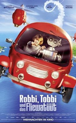 Portada de la película Robby y Tobby en el viaje fantástico