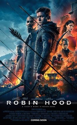 Portada de la película Robin Hood