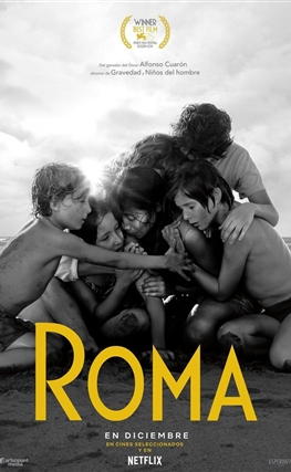 Portada de la película Roma