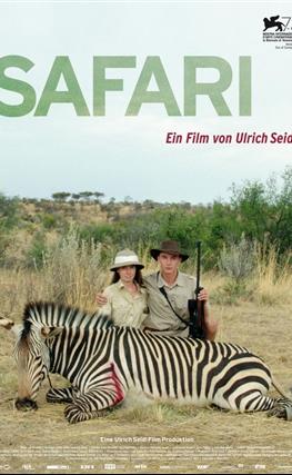 Portada de la película Safari