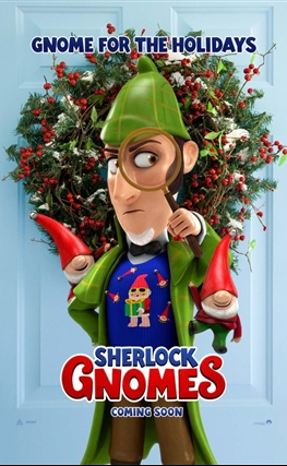 Portada de Sherlock Gnomes
