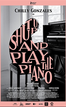 Portada de la película Shut Up and Play the Piano