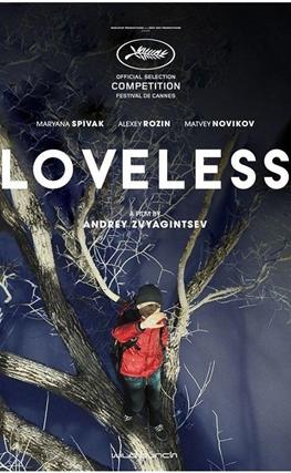 Portada de Sin amor (Loveless)