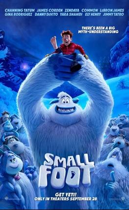 Portada de la película Smallfoot