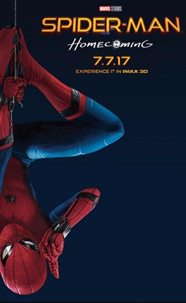 Portada de la película Spider-Man: Homecoming
