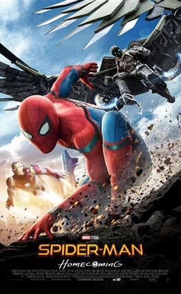 Portada de Spider-Man: Homecoming