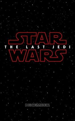 Portada de la película Star Wars: Los últimos Jedi