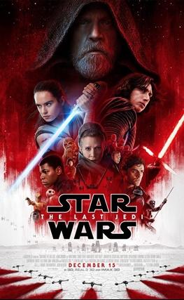 Portada de Star Wars: Los últimos Jedi