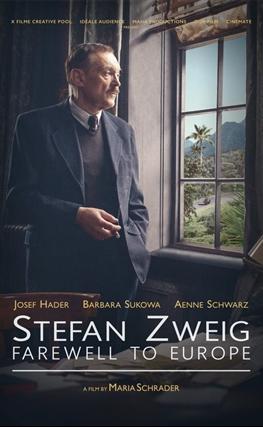 Portada de la película Stefan Zweig: Adiós a Europa