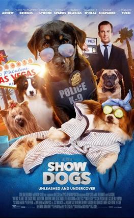 Portada de la película Superagente canino