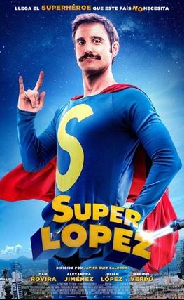 Portada de la película Superlópez