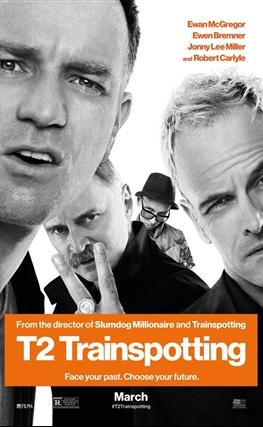Portada de la película T2: Trainspotting