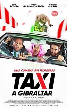 Portada de la película Taxi a Gibraltar