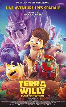 Portada de la película Terra Willy: Planeta desconocido