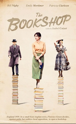 Portada de la película The Bookshop