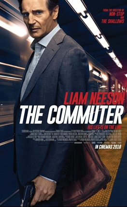 Portada de The Commuter