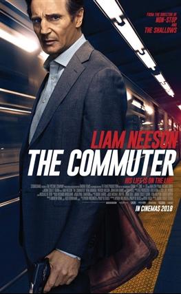 Portada de la película The Commuter