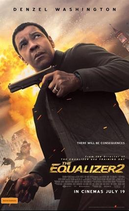 Portada de la película The Equalizer 2