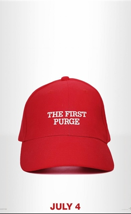 Portada de la película The First Purge
