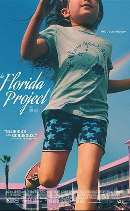 Portada de la película The Florida Project