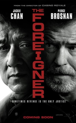 Portada de la película The Foreigner