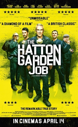 Portada de la película The Hatton Garden Job