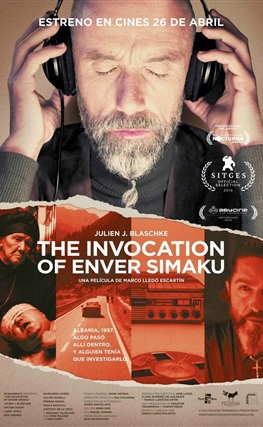 Portada de la película The Invocation of Enver Simaku