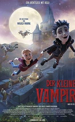 Portada de la película The Little Vampire 3D